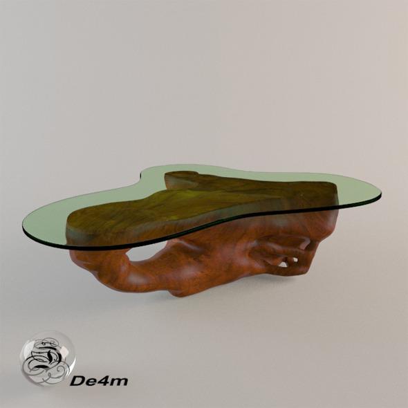 3DOcean Root Coffee Table 7874685