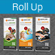 Multipurpose Business Roll-Up Banner Vol-18 - GraphicRiver Item for Sale