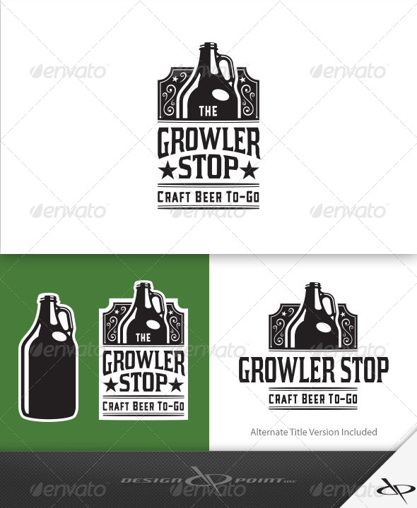 GraphicRiver Growler Stop Logo 7856989