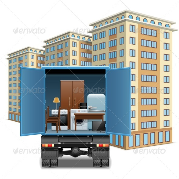 GraphicRiver Furniture Transportation 7874745