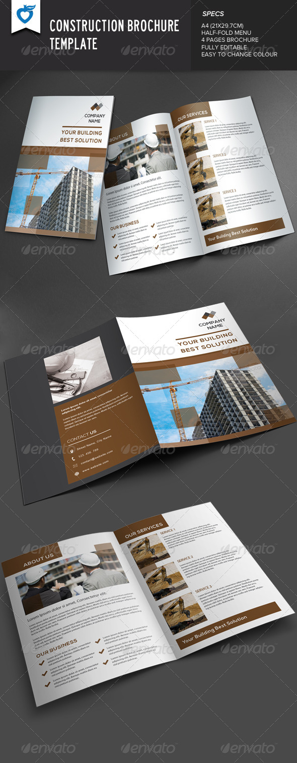 GraphicRiver Construction Brochure 7874877