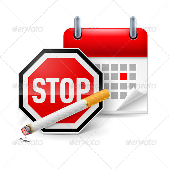 GraphicRiver No Smoking Day Icon 7874983