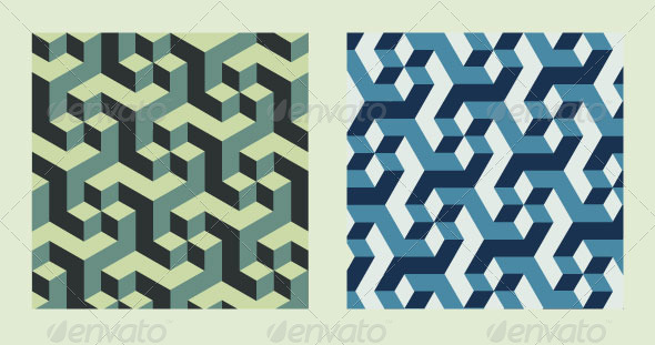 GraphicRiver Isometric Pattern 7875533
