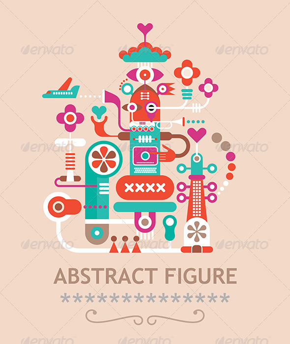 GraphicRiver Abstract Figure 7875658