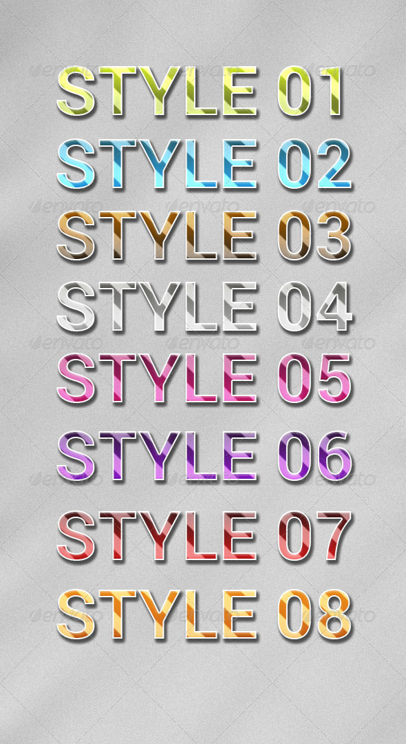 GraphicRiver Styles Lines 7875698