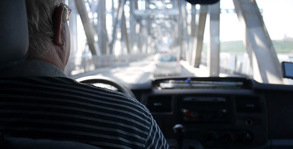 Traffic Jam On The Bridge