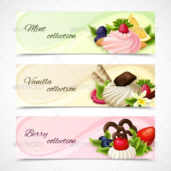 GraphicRiver Sweets Banners Horizontal 7875918
