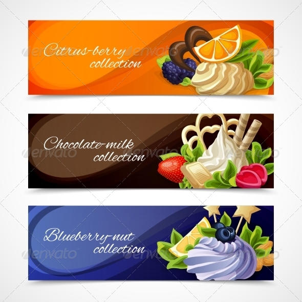 GraphicRiver Sweets Banners Horizontal 7875920