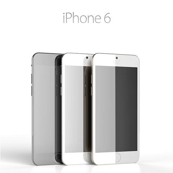3DOcean iPhone 6 Concept 7875926