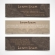 Ornamental Banners Horizontal - GraphicRiver Item for Sale