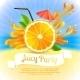 Orange Juice Party - GraphicRiver Item for Sale