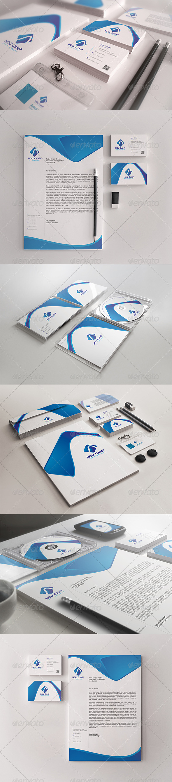 GraphicRiver Nou Camp Corporate Identity Package 7875986