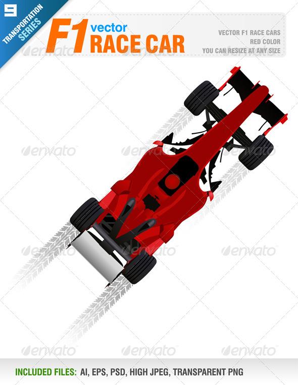 GraphicRiver F1 Race Car 7876002