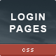 CSS3 Login Pages - CodeCanyon Item for Sale