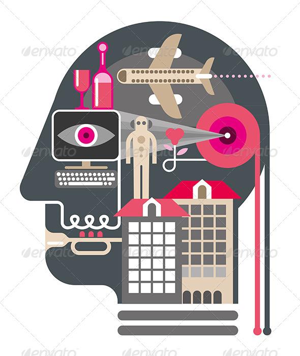 GraphicRiver Human Head 7876218