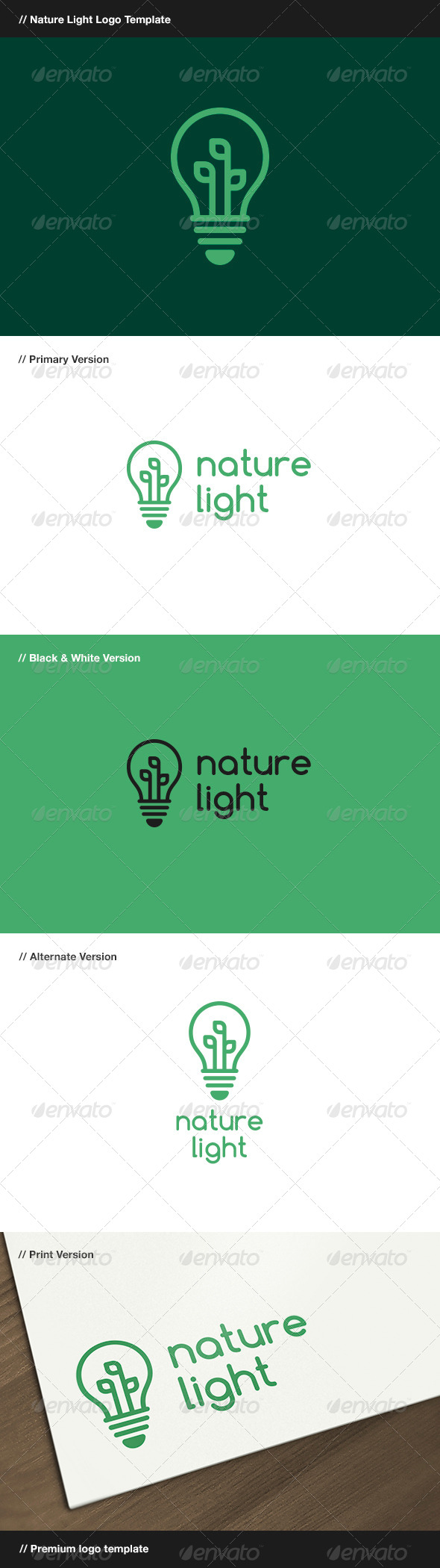 GraphicRiver Nature Light 7876435