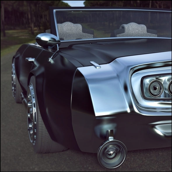 3DOcean Muscle car concept 7877006