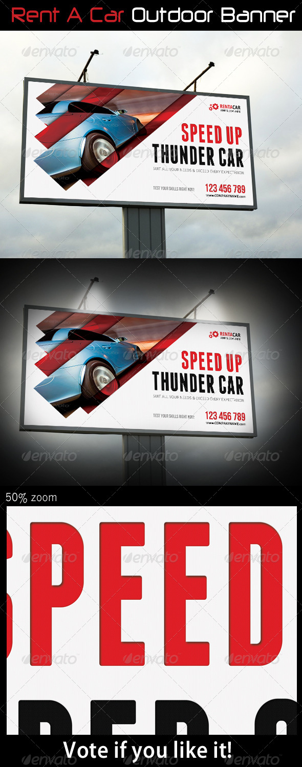 GraphicRiver Rent A Car Outdoor Banner 08 7877880