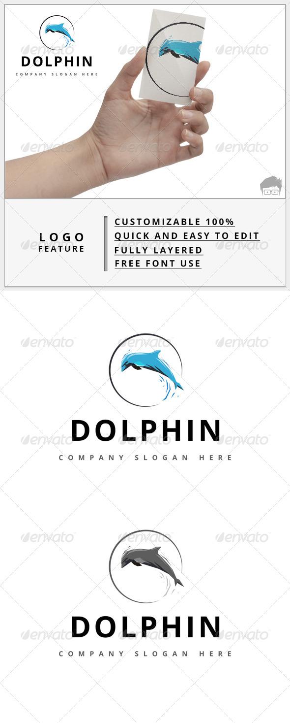 GraphicRiver Dolphin Logo 7878032