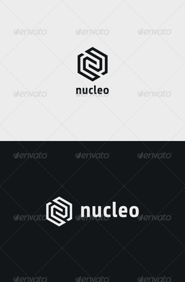 Nucleo Logo - Vector Abstract