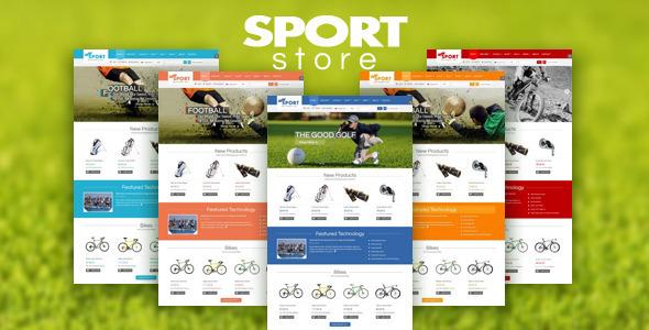 SJ Sport Store - Responsive Joomla Template - Retail Joomla