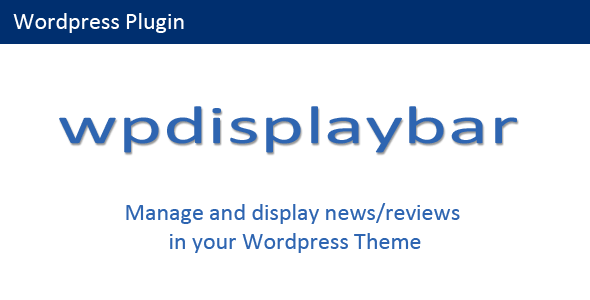 CodeCanyon Wordpress Display Bar 7878049