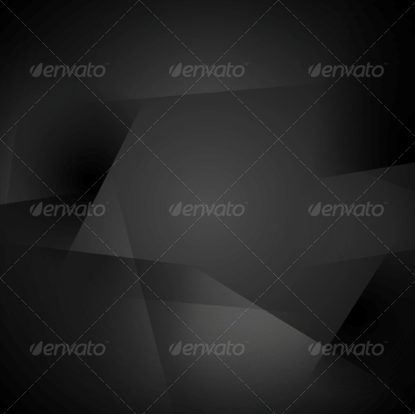 GraphicRiver Abstract Black Shapes Background 7879201