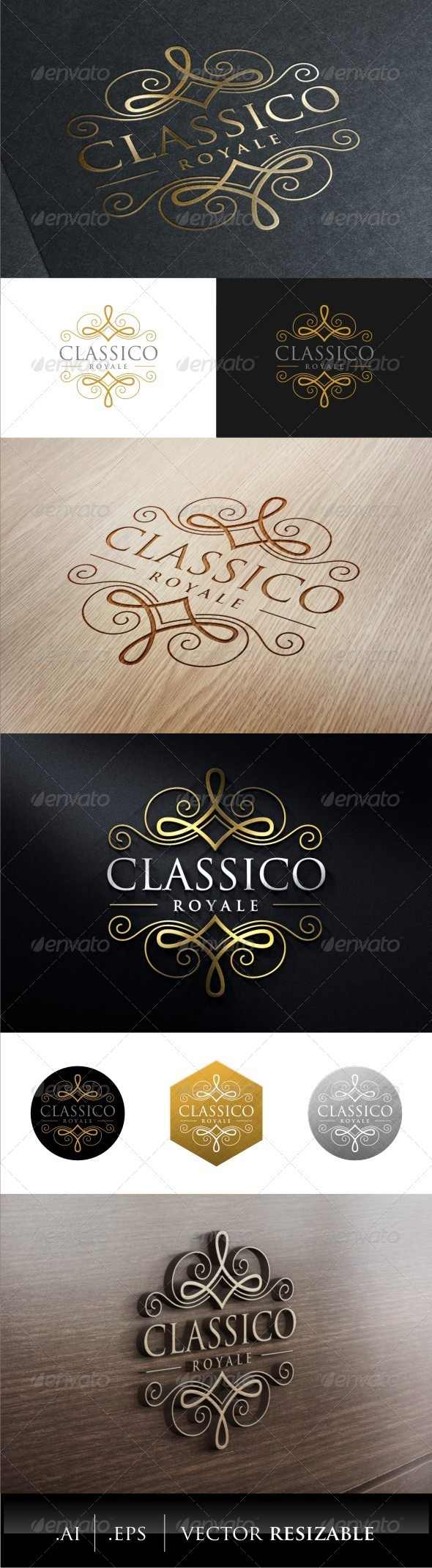 GraphicRiver Classic Royal Logo 7879641