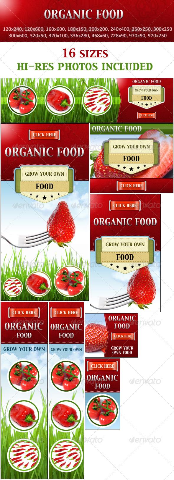 Organic Food Grow Your Own Food