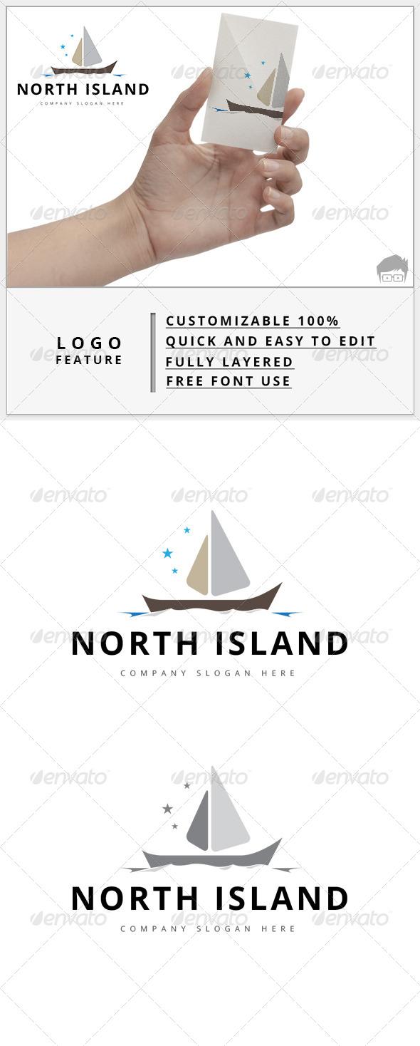 GraphicRiver North Island Logo 7880468