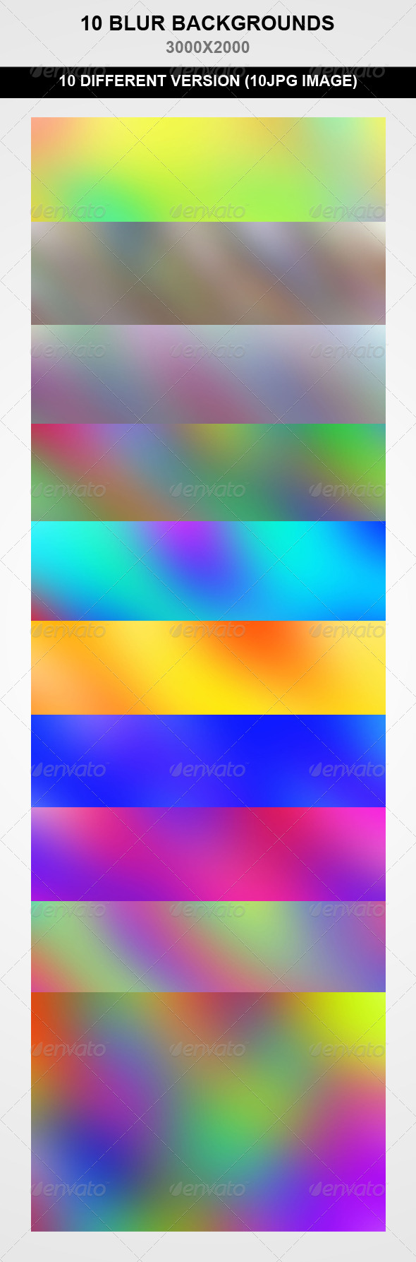 GraphicRiver 10 Blur Backgrounds 7880590