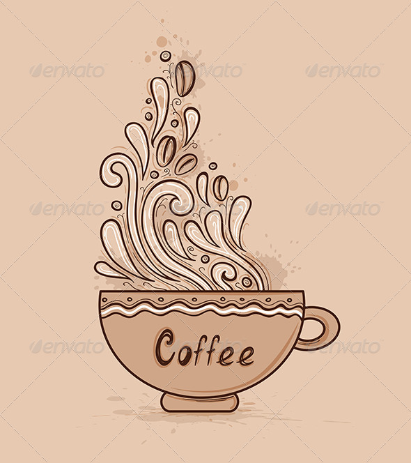 GraphicRiver Cup of Coffee 7881037