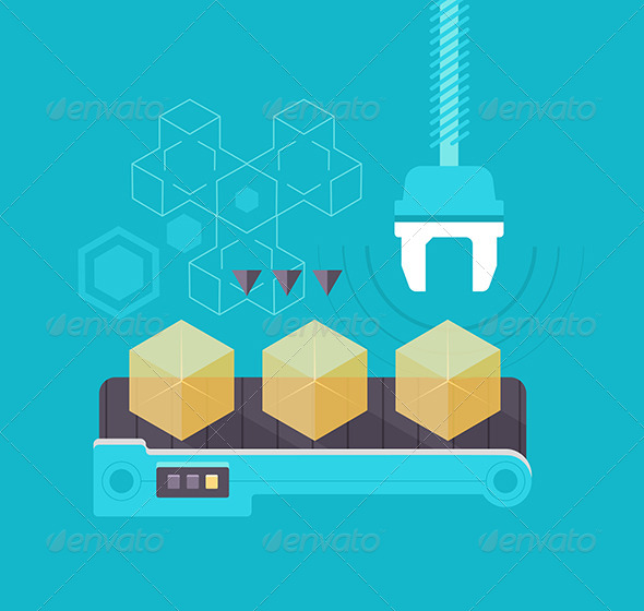 GraphicRiver Mass Production 7881637