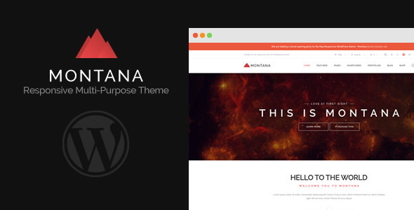 ThemeForest Montana Responsive Multipurpose WordPress Theme 7882488
