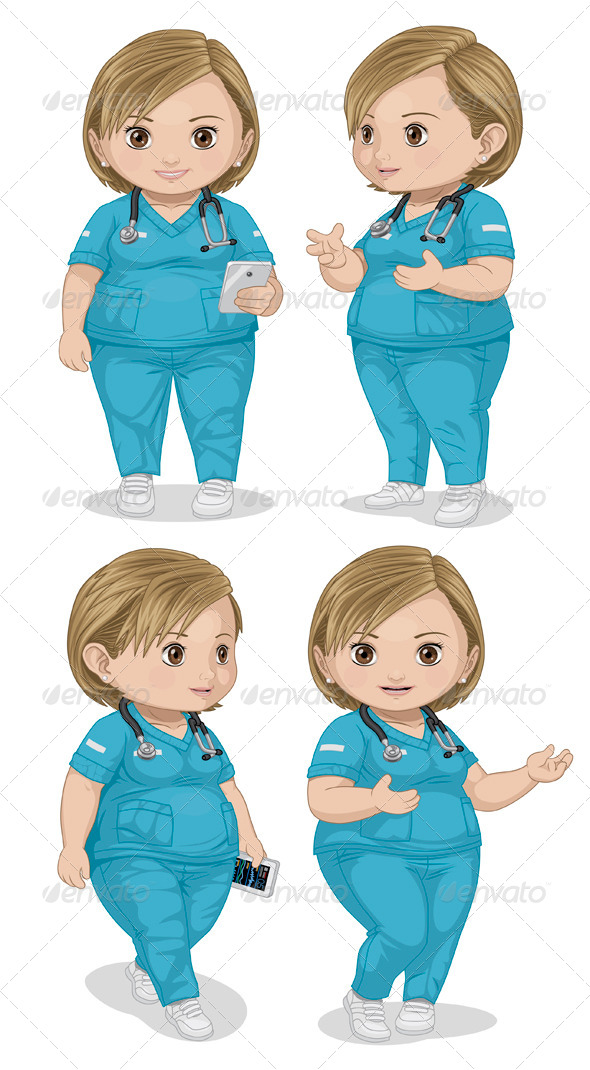 GraphicRiver Nurse 7882656
