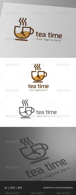 GraphicRiver Tea Drink Time Logo 7883128