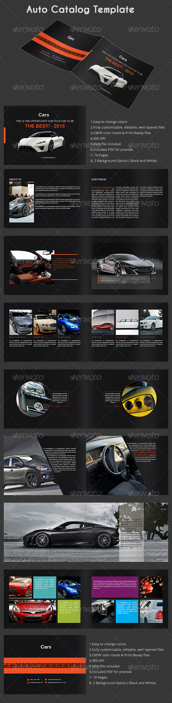 GraphicRiver Auto Catalog Template 7883176