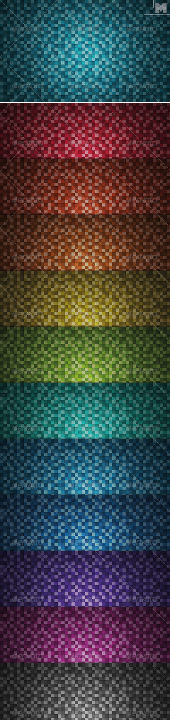 GraphicRiver Mosaic Backgrounds 7883675
