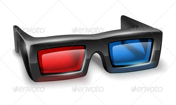 GraphicRiver 3D Glasses for Watching Stereo Films 7883744