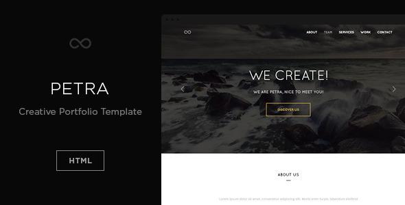 Petra - Creative Portfolio Template