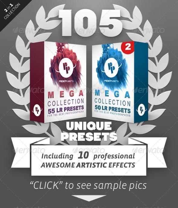 GraphicRiver 105 Lightroom Presets Bundle 7884678