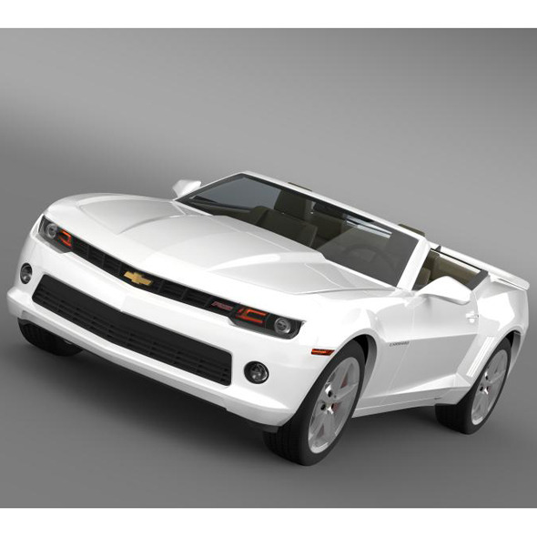 Chevrolet Camaro RS Convertible 2014 - 3DOcean Item for Sale