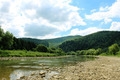 beautiful mountainous landscape with river - PhotoDune Item for Sale