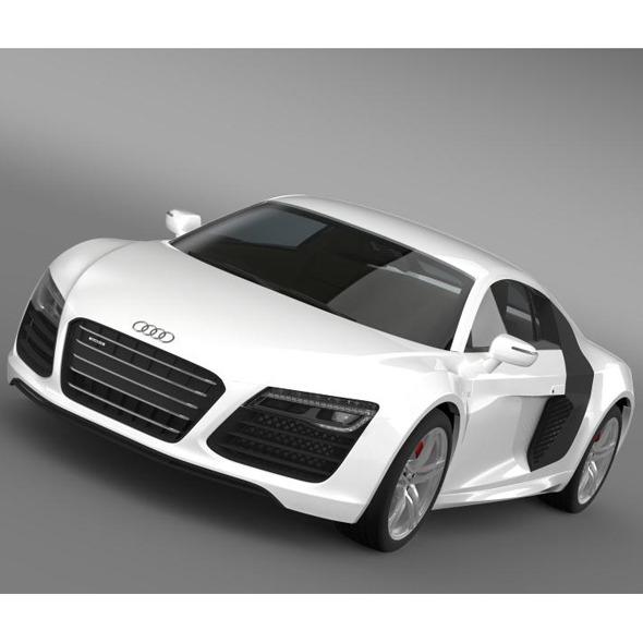 3DOcean Audi R8 V10 2013 7885111