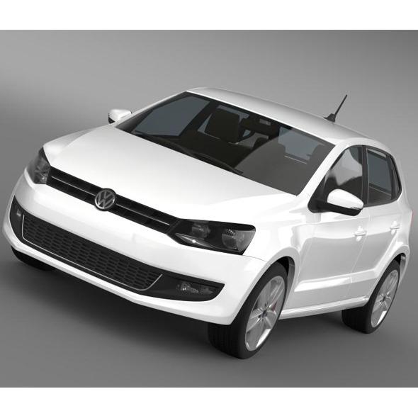 3DOcean Volkswagen Polo 5d 2009-2013 7885160