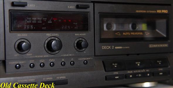Old Cassette Deck
