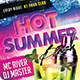 Hot Summer Bash Party Flyer - 4x6 - GraphicRiver Item for Sale