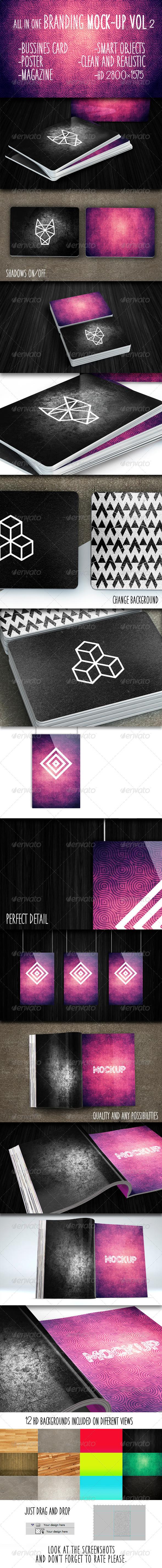 GraphicRiver Branding Mock-Up Vol 2 7885903
