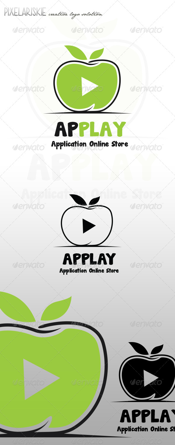 GraphicRiver App Play Apple Logo 7886018