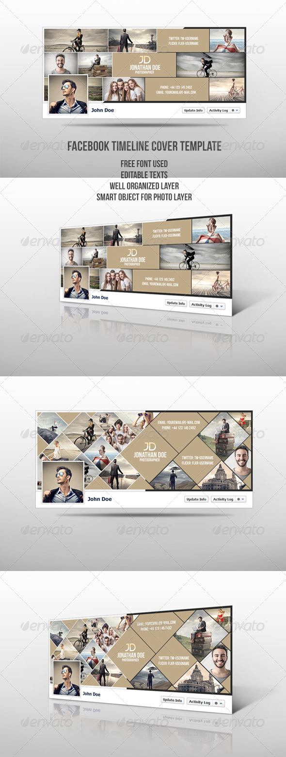 GraphicRiver Facebook Timeline Cover 7886427